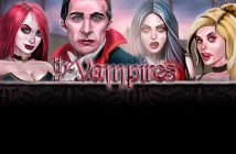 The Vampires Online Casino Slot Review logo